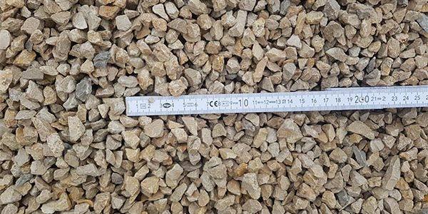 Schotter, Splitte Aus Kalkstein
